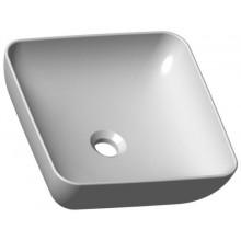 RAVAK UNI 380 S SLIM umyvadlová mísa 380x380x125mm, bez otvoru, bez přepadu, keramika, bílá