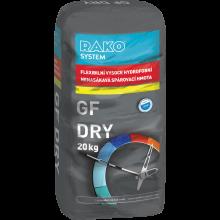 RAKO SYSTEM GF DRY spárovací hmota 2kg, flexibilní, šedá