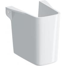 GEBERIT SELNOVA SQUARE polosloup 250x251x300mm, pro umývátka, keramika, bílá