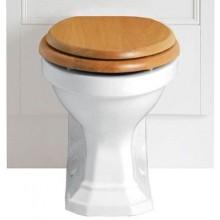 HERITAGE GRANLEY WC mísa 369x503mm pro nástěnnou skříňku, vodorovný odpad, bílá