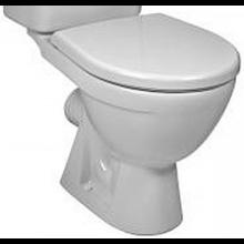 JIKA LYRA PLUS WC mísa 360x630mm, vodorovný odpad, bílá