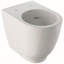 GEBERIT ACANTO stojící klozet 350x510mm, s hlubokým splachováním, Rimless, zvýšené, KeraTect, bílá