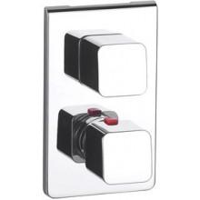 ROCA THESIS vrchní sada sprchové termostatické podomítkové baterie, chrom 75A2950C00