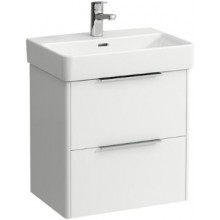 LAUFEN BASE skříňka pod umyvadlo 520x358x515mm, 2 zásuvky, bílá lesk
