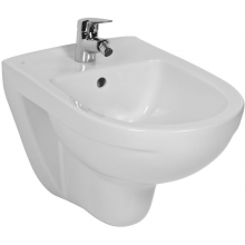 JIKA LYRA PLUS bidet 360x530x350mm, závěsný, bez postranních otvorů, bílá
