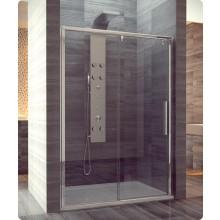 Zástěna sprchová dveře Ronal Pur-Light S PLS2D 150 50 07 1500x2000mm aluchrom/čiré AQ