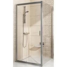 RAVAK BLIX BLPS 90 pevná stěna 870-890x1900mm, jednodílná, satin/transparent