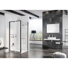 CONCEPT PIVOT STYLE PT-PPS sprchová stěna 800x1900mm, boční, sklo, black/transparent