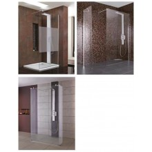 IDEAL STANDARD SYNERGY WETROOM stěna 140cm silver bright L6226EO