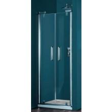 HÜPPE REFRESH PURE PTN 900 lítací dveře 900x1943mm pro niku, titanová stříbrná/sand plus anti-plague 9P0903.084.316