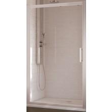 IDEAL STANDARD SYNERGY dveře posuvné 1400x1900mm, 2dílné, sklo, lesklá stříbrná
