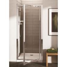 IDEAL STANDARD CONNECT pivotové dveře 90cm P/L, silver bright/čiré sklo Ideal Clean