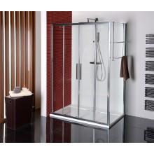 POLYSAN LUCIS LINE sprchové dveře 1500x2000mm posuvné, 4-dílné, čiré sklo antidrop/leštěný hliník