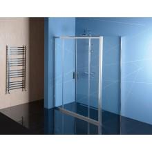 POLYSAN EASY LINE sprchové dveře 1100x1900mm posuvné, 2-dílné, čiré sklo/aluchrom