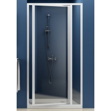 RAVAK SUPERNOVA SDOP 90 sprchové dveře 873-910x1850mm, dvoudílné, otočné, pivotové bílá/transparent