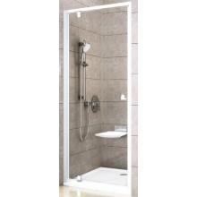 RAVAK PIVOT PDOP1 80 sprchové dveře 761-811x1900mm jednodílné, otočné, bílá/bílá/transparent
