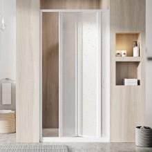 RAVAK SUPERNOVA SDZ3 80 sprchové dveře 770-810x1850mm, třídílné, zalamovací, bílá/pearl