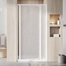 RAVAK SUPERNOVA SDOP 90 sprchové dveře 873-910x1850mm, dvoudílné, otočné, pivotové, bílá/pearl
