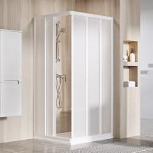 RAVAK SUPERNOVA ASRV3 80 sprchové dveře 770-790x1880mm, posuvné, třídílné, bílá/pearl