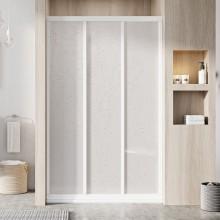 RAVAK SUPERNOVA ASDP3 80 sprchové dveře 770-810x1880mm třídílné, posuvné, bílá/pearl