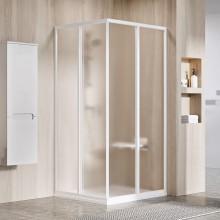 RAVAK SUPERNOVA SRV2-S 90 sprchové dveře 870-890x1850mm, dvoudílné, posuvné, bílá/santro