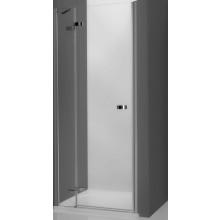 ROTH ELEGANT LINE GDNL1/900 sprchové dveře 900x2000mm levé jednokřídlé pro instalaci do niky, bezrámové, brillant/transparent
