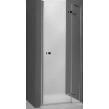ROTH ELEGANT LINE GDNP1/900 sprchové dveře 900x2000mm pravé jednokřídlé pro instalaci do niky, bezrámové, brillant/transparent