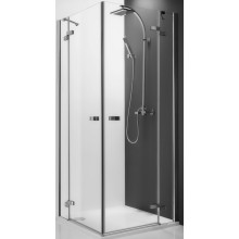 ROTH ELEGANT LINE GDOL1/1500 sprchové dveře 1500x2000mm levé jednokřídlé, bezrámové, brillant/transparent