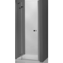 ROTH ELEGANT LINE GDNL1/1200 sprchové dveře 1200x2000mm levé jednokřídlé pro instalaci do niky, bezrámové, brillant/transparent