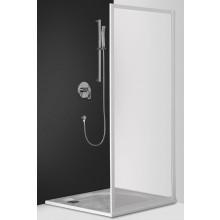 ROTH CLASSIC LINE CSB/900 boční stěna 900x1850mm samostatně stojící, bílá/bark (kůra)