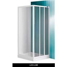 ROTH PROJECT LD3/900 sprchové dveře 900x1800mm posuvné, bílá/damp