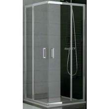 SANSWISS TOP LINE TOPG sprchové dveře 1200x1900mm, dvoudílné posuvné, levý díl pro rohový vstup, aluchrom/čiré sklo