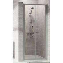 CONCEPT 100 NEW sprchové dveře 800x1900mm lítací, stříbrná pololesklá/čiré sklo AP