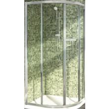 IDEAL STANDARD CONNECT sprchový kout 900x900x1900mm, čtvrtkruhový, se 2 posuvnými dveřmi, sklo, lesklá stříbrná