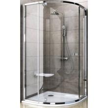 RAVAK PIVOT PSKK3 90 sprchový kout 870-895x870-895x1900mm, čtvrtkruhový, satin/transparent