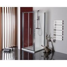 POLYSAN LUCIS LINE boční stěna 900x2000mm, leštěný hliník/čiré sklo antidrop