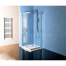 POLYSAN EASY LINE sprchová zástěna 800x800x1900mm, čtverec, čiré sklo