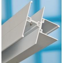 RAVAK spojovací T profil 1850mm, ke sprchovým koutům, bílá