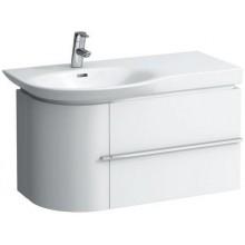 LAUFEN CASE skříňka pod umyvadlo 840x375x450mm 2 zásuvky, bílá lesklá