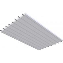 KOTRBATÝ KSP TO GO sálavý panel 1200x2000mm, závěsný, teplovodní, bílá RAL 9016