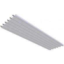 KOTRBATÝ KSP TO GO sálavý panel 900x3000mm, závěsný, teplovodní, bílá RAL 9016