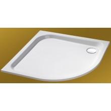 CONCEPT HÜPPE Verano sprchová vanička 1000mm čtvrtkruh, bílá 235022.055