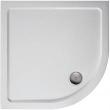 IDEAL STANDARD SIMPLICITY STONE sprchová vanička 1010x1010x45mm, čtvrtkruh, litý mramor, bílá