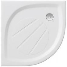 RAVAK ELIPSO PRO 90 sprchová vanička 900x900mm, z litého mramoru, extra plochá, čtvrtkruhová, bílá