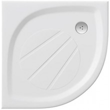 RAVAK ELIPSO PRO 100 sprchová vanička 1000x1000mm, z litého mramoru, extra plochá, čtvrtkruhová, bílá