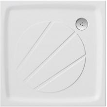 RAVAK PERSEUS PRO 100 sprchová vanička 1000x1000mm, z litého mramoru, extra plochá, čtvercová, bílá