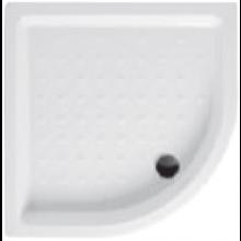 JIKA RAVENNA vanička sprchová 800x800x110mm, čtvrtkruh, R550, keramika, bílá