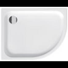 JIKA TIGO sprchová vanička 1000x800x85mm, keramická, asymetrická, levá, bílá, antislip