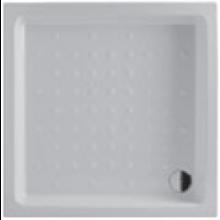 JIKA RAVENNA sprchová vanička 800x800x110mm, čtverec, keramika, bílá