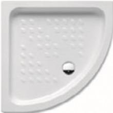 ROCA ITALIA sprchová vanička 900x900mm, čtvrtkruh, bílá